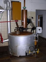 Distillery - double boilers system. Kunovice 01