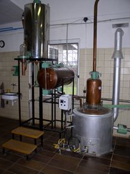 Distillery - double boilers system. Kunovice 04