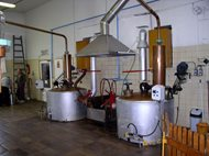 Distillery - double boilers system. Kunovice 07