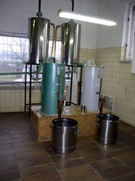 Distillery - double boilers system. Kunovice 05