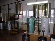 Distillery - double boilers system. Kunovice 09
