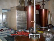 Distillery - double boilers system. Pecl 10