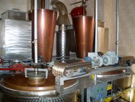 Distillery - double boilers system. Pecl 11