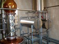 Distillery - double boilers system. Pecl 07
