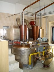 Distillery - double boilers system. Pecl 04