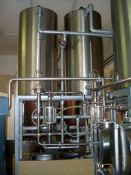 Distillery - double boilers system. Pecl 05