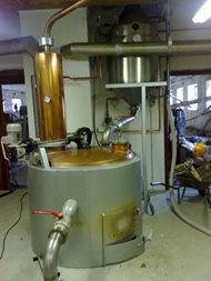 Distillery - double boilers system. Rampas 01