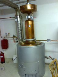 Distillery - double boilers system. Rampas 02
