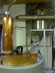 Distillery - double boilers system. Rampas 03