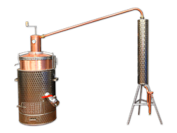 One-walled stainless steel boiler